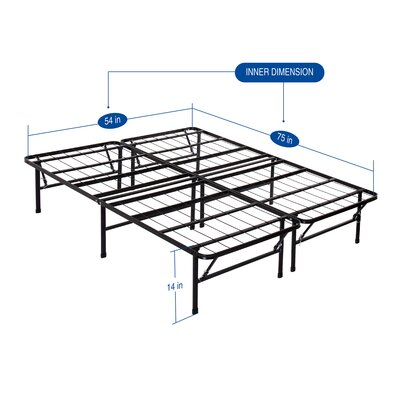 Garrity Metal Comfort Bed Frame Size: Full/Double
