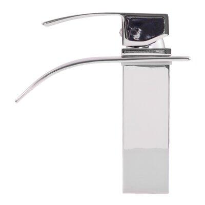 Remi Single Hole Single Handle Bathroom Faucet Finish: Chrome