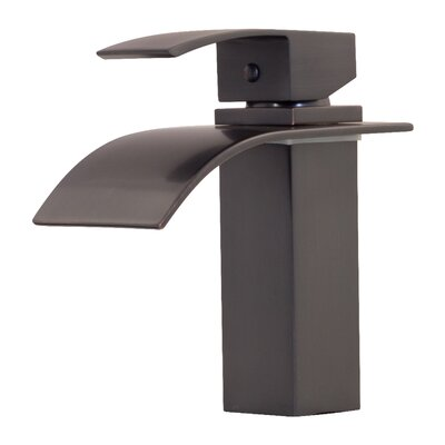 Remi Single Hole Single Handle Bathroom Faucet Finish: Oil Rubbed Bronze