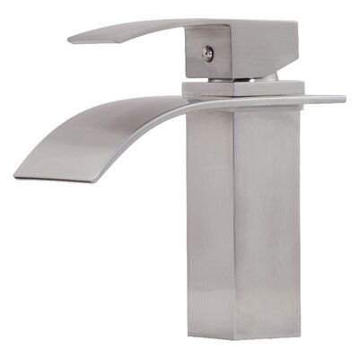 Remi Single Hole Single Handle Bathroom Faucet Finish: Brushed Nickel