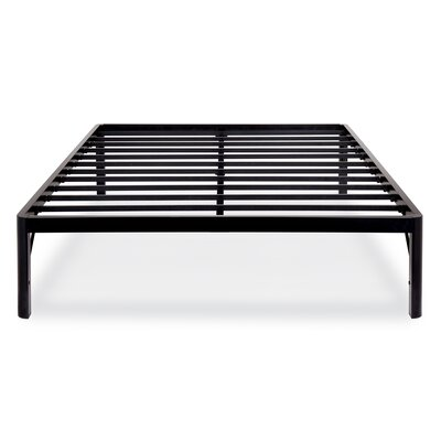 Wilhoit Steel Slat Bed Frame Size: King