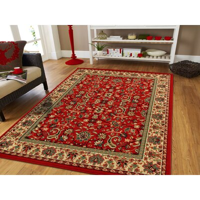 Kulick Traditional Indoor/Outdoor Area Rug Rug Size: Rectangle 8 x 11
