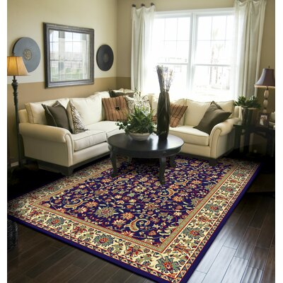 Kulik Traditional Oriental Indoor/Outdoor Area Rug Rug Size: Rectangle 5 x 8