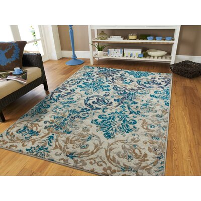 Bromelton Modern Blue Indoor/Outdoor Area Rug Rug Size: Rectangle 2 x 3