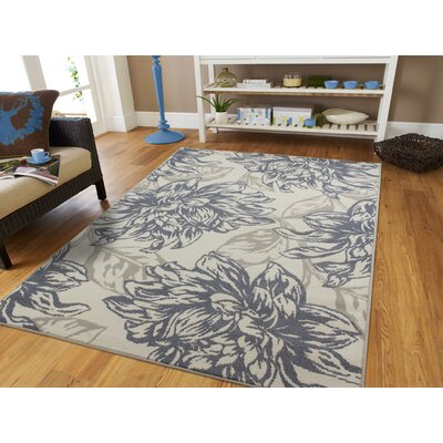 Bromford Gray Indoor/Outdoor Area Rug Rug Size: Rectangle 5 x 8