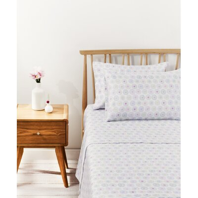 Palette 100% Cotton Sheet Set Size: Twin