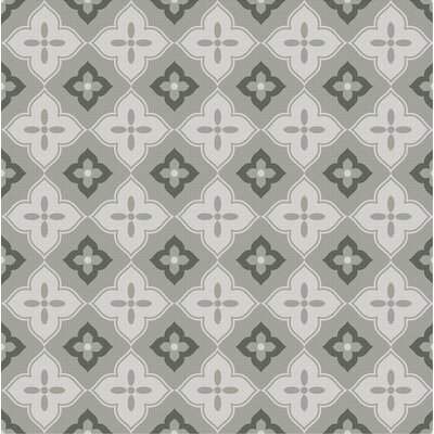 Bouquet 9.25 x 9.25 Porcelain Field Tile in Milano