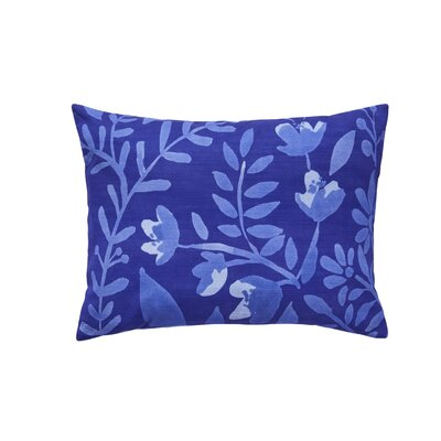 Botanical 100% Cotton Throw Pillow