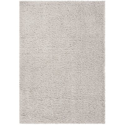 Stoffel Silver Area Rug Rug Size: Rectangular 3 x 5
