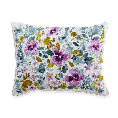 Christine 100% Cotton Throw Pillow Size: 12 H x 24 W