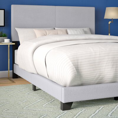 Newport Upholstered Panel Bed Size: Queen