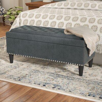 Labarre Storage Ottoman Upholstery: Graphite