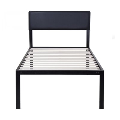 Wildes Platform Metal Bed Frame Size: Twin