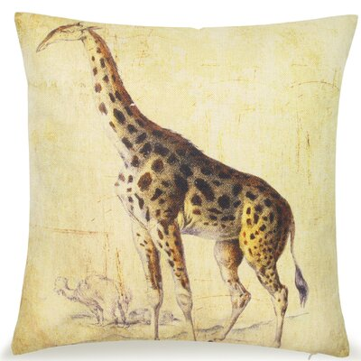 Loren Giraffe Throw Pillow