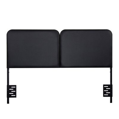 Humfleet Steel Panel Headboard Size: Queen