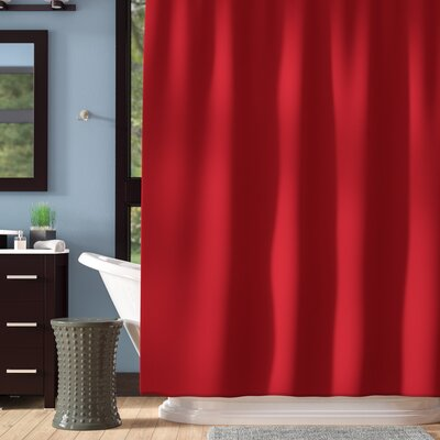 Andrade Shower Liner Color: Red