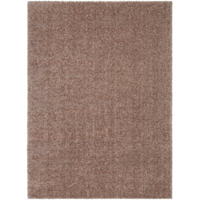 Carlos Shag Plush Camel Area Rug Rug Size: Rectangle 53 x 73