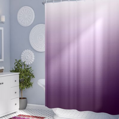 Inspired Aubergine Inspired Decorations Shower Curtain Size: 69 W x 84 L