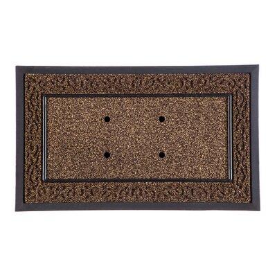 DeLussey Scroll Sassafras Tray Doormat