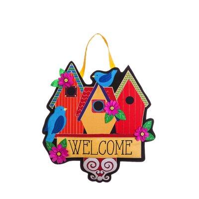 Limones Birdhouse Welcome Wall D�cor BE38A0B0C9414660B72AC940B7B6D69E