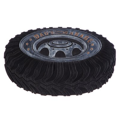 DeLussey Dads Garage Tire Rubber Doormat