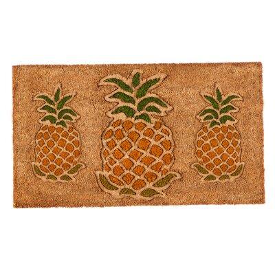 Dickens Pineapple Coir Doormat