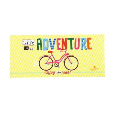 Gilstrap Life is an Adventure Sassafras Switch Doormat