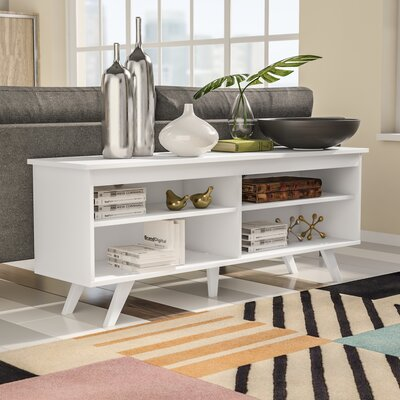 Bissonnette 58 TV Stand Color: White