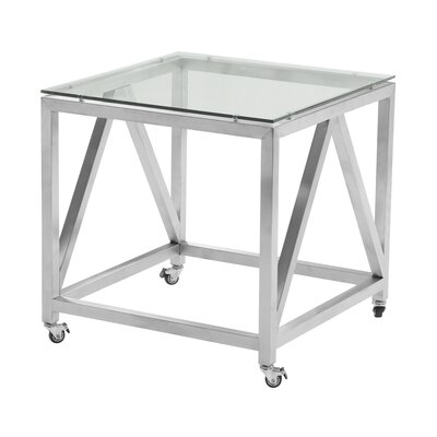 Humble Contemporary Square End Table