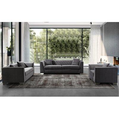 Gagnon Contemporary Configurable Living Room Set