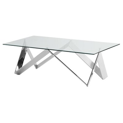 Hummel Contemporary Rectangular Coffee Table