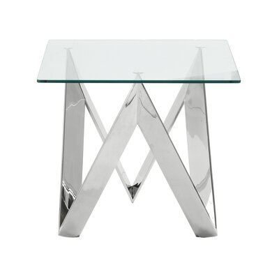 Hummel Contemporary Square End Table