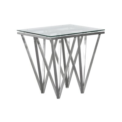 Humbert Contemporary Square End Table