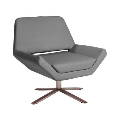 Cohen Lounge Chair Upholstery: Gray
