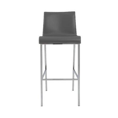Arevalo 30 Bar Stool Color: Gray