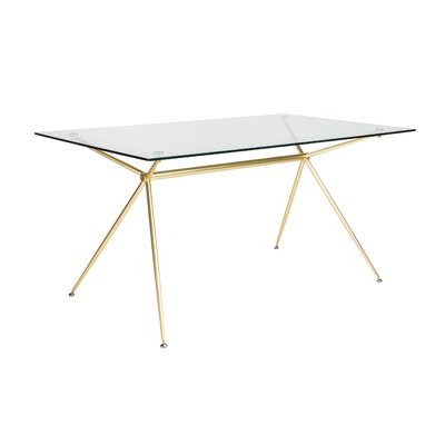 Berndt Rectangle Dining Table Size: 29.7 H x 60 W x 36 D
