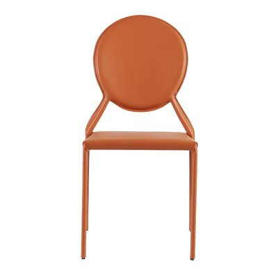 Elmhurst Side Chair Color: Cognac