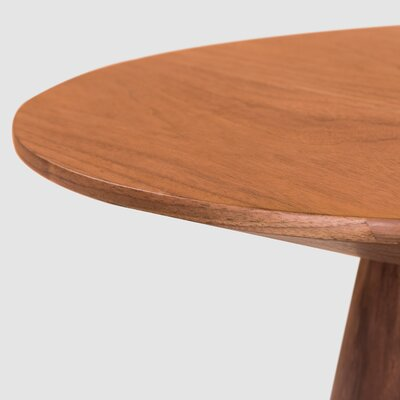 Lolley End Table Color: Walnut