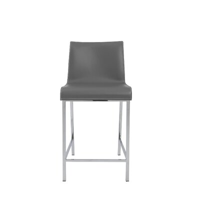 Arevalo Counter 24 Bar Stool Color: Gray
