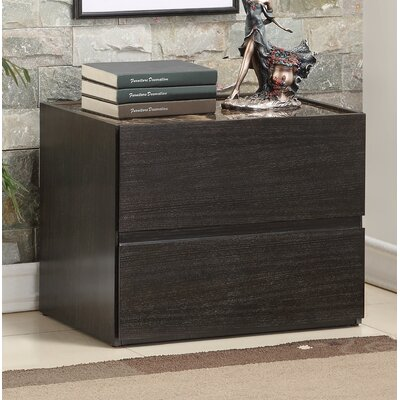 Ewell 2 Drawer Nightstand
