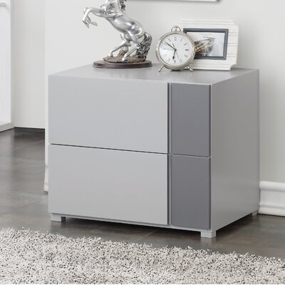 Bottorff 2 Drawer Nightstand