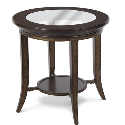 Dravin Round End Table
