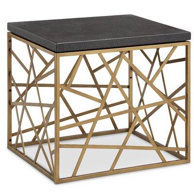 Destefana Rectangular End Table