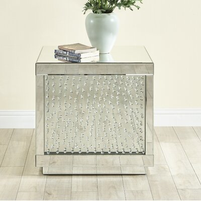 Larock Crystal End Table