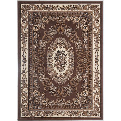 Ledger Brown Area Rug