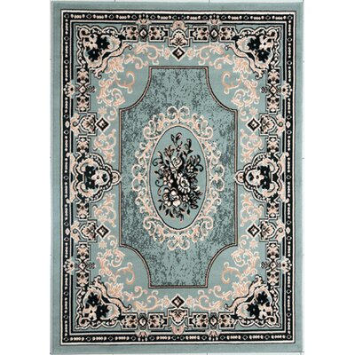 Legaspi Light Green Area Rug