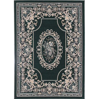 Legaspi Emerald Green Area Rug
