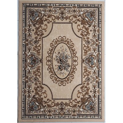 Haire Beige Area Rug
