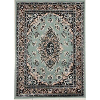 Haigler Light Green Area Rug