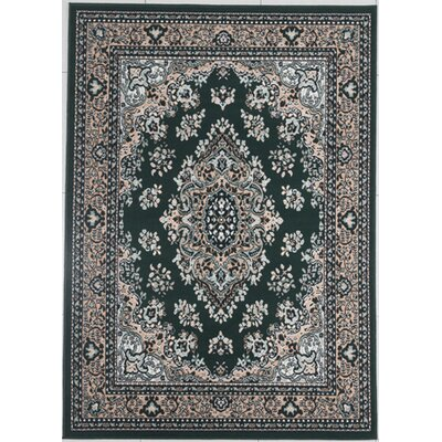 Haile Emerald Green Area Rug